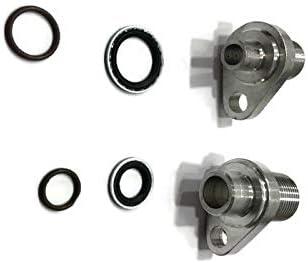 TR Diesel LS Swap AC Compressor Adapter Fittings Denso 10S17F /& 10S20F
