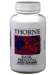 Thorne Research Basic Prenatal 270 caps (3 bottles of 90 caps per (Magnesium Malate 90 Caps)