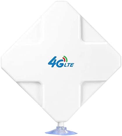 Domilay 4G LTE T9S Antena 35DBi Alta Gain Antena Dual T9S ...
