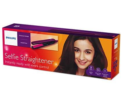 PHILIPS Selfie Hair Straightener  PHP_00100    BHS384