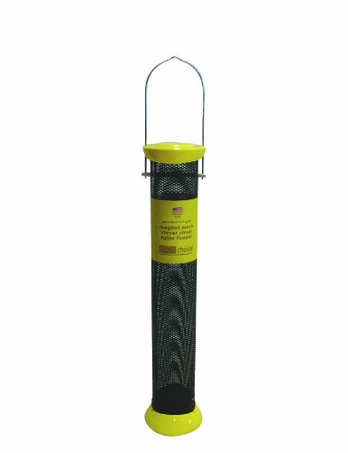 Birds Choice Magnet Mesh Clever Clean Nyjer Feeder, 18-Inch