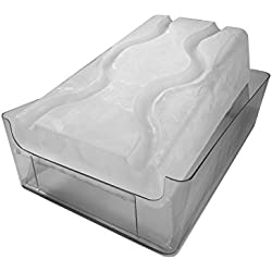 """King Luge -- The HUGE """"No Mess"""" Dual-Track Ice Luge Mold"""