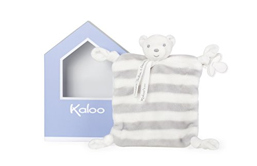 Kaloo Bebe Pastel Doudou Bear - Grey & Cream ()