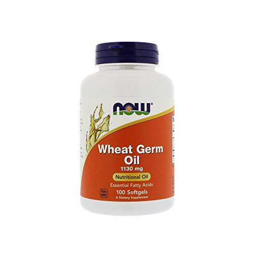 NOW Supplements, Wheat Germ Oil with Essential Fatty Acids (EFA's), 100 Softgels