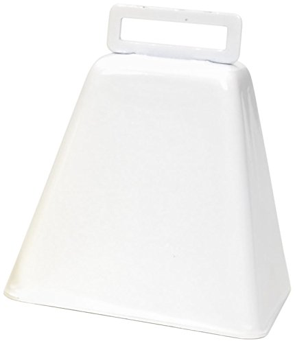 Darice 1 Piece Cowbell, 3, White 3 1090-84