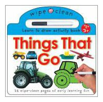 Wipe Clean Things Learning Books