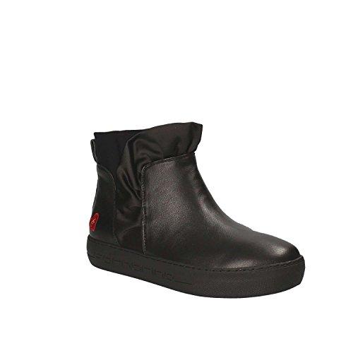 Negro Fornarina Zapatillas para Altas Yuma Mujer XXq1Px