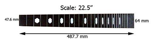 Lap Steel Fretboard - 4