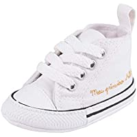 Tenis Converse All Star Chuck Taylor My First Branco/Branco/Preto 17