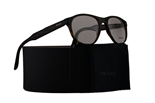 Aluminum Journal (Prada Journal PR12SV Eyeglasses 54-18-145 Matte Havana w/Demo Clear Lens HAQ1O1 VPR12S VPR 12S PR 12SV)