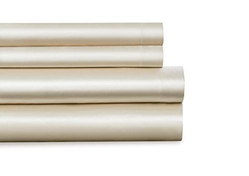 BALTIC LINEN Luxury Satin Super Soft Sheet Sets, Queen, Ivor