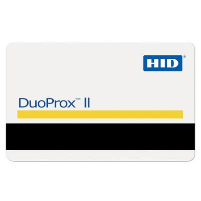 HID 1336 DuoProx II Proximity Card W/ Magnetic Stripe and Photo Identification 1336LGGMN - (25 Pack)