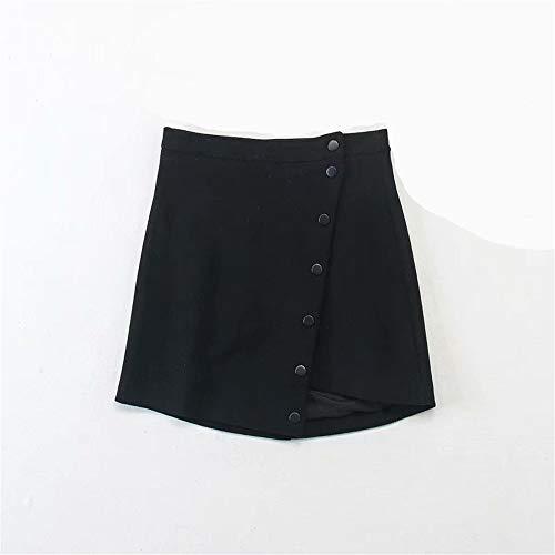 LLS black Rtro Jupe Jupe Basique Jupe Courte Femmes Midi 1S1r87q