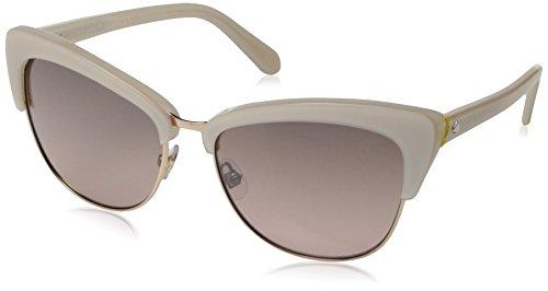 Kate Spade Women's Genette Cateye Sunglasses, Beige & Rose Gradient Mirror, 56 - Sunglasses Stylish 2015