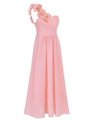 CoutureBridal - Vestido - Sin mangas - para niña Rosa