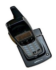 AT&T EP590-2 5.8 GHz 2-Line Expansion Handset and Charger