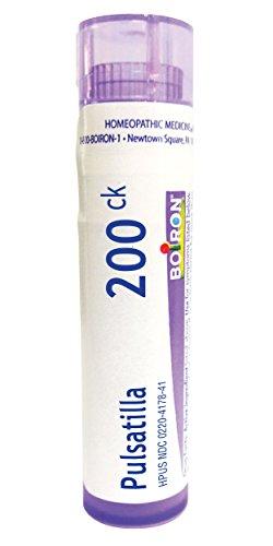 (Boiron Pulsatilla 200CK, 80 Pellets, Homeopathic Medicine for)