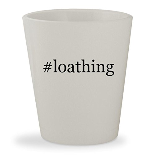 Kingdom Of Loathing Costume (#loathing - White Hashtag Ceramic 1.5oz Shot Glass)