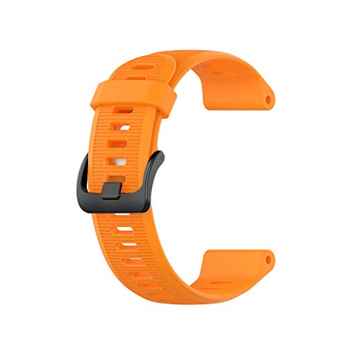 Price comparison product image BIYATE Compatible for Garmin Fenix 5,  Soft Silicone Breathable Sport Strap Replacement Watchbands Compatible for Garmin Fenix 3,  Fenix 3 HR,  Fenix 5X,  Quatix 3,  Forerunner 945 / 935