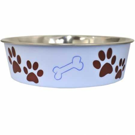 (Loving Pets Bella Bowls Murano Blue (Large))
