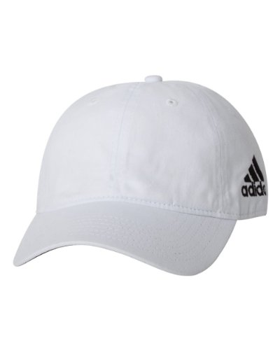 adidas Mens Unstructured Cresting Cap (A12) -White -Adjustable