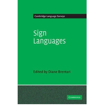 [(Sign Languages)] [Author: Diane Brentari] published on (July, 2010) PDF