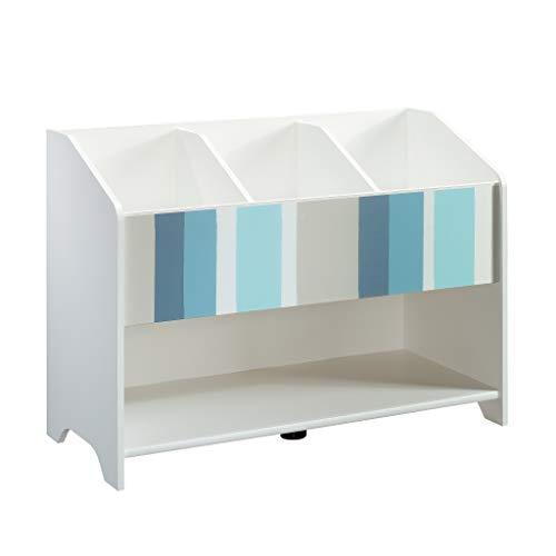 Sauder 421889 Pinwheel Bookcase (Footboard), Soft White Finish ()