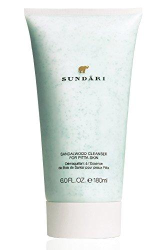 Sundari Sandalwood Cleanser for Normal to Combination Skin, 6 Ounce
