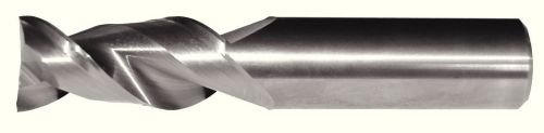 Carbide RH Cut Uncoated WIDIA Hanita 5A0207002A AluSurf 5A02 HP Aluminum End Mill 0.25 Cutting Dia 2-Flute 0.25 Shank Dia 0.015 Radius