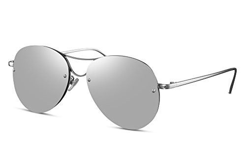 plats aviateur faites Pilote Hommes effet UV400 Monture Cheapass Rondes soleil 003 invisible Femmes métal de Ca verres de Lunettes miroir qwnwOpIzW