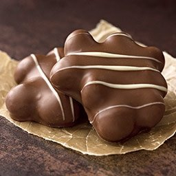 Lake Champlain Milk Chocolate Macadamia Caramel Clusters, 6 Pieces, 10.25 Ounces made in New England