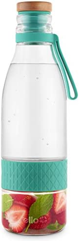 Ello Zest Glass Infuser Bottle