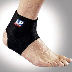- LP Ankle Support (Unisex; Black), Large