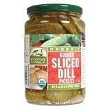Woodstock Pickles Dill Kshr Slcd Or 24Oz