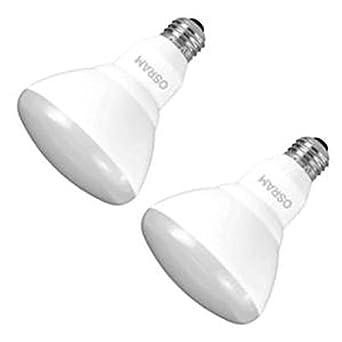 Sylvania 73956 - led9br30dim85010yvrp2 R30 Flood luz LED Bombilla: Amazon.es: Iluminación
