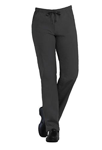 (Tru Basic Womens Full Elastic Multi Pocket Cargo Scrub Pant 90103 (Pewter, X-Large))