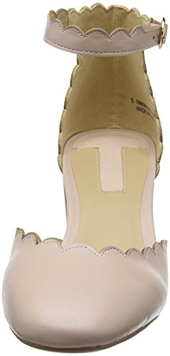 Dorothy Perkins Dorothy 2 Part Court - Tacones Mujer Rosa (Peach)