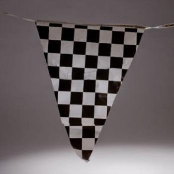 Plastic Checkered Pennant Banner for sale  Delivered anywhere in USA