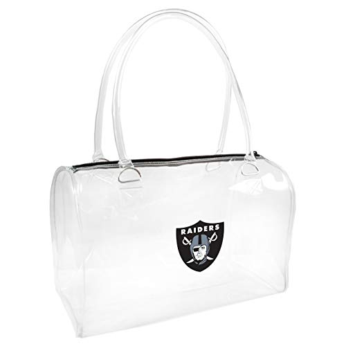 NFL Oakland Raiders Clear Bowler Handbag