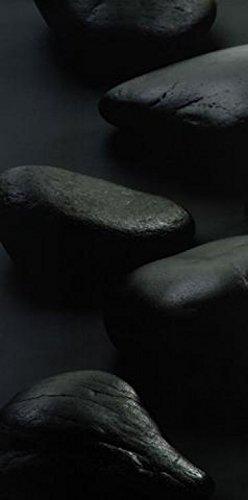 - 1art1 Posters: Jan Lens Poster Art Print - Black Stones (39 x 20 inches)