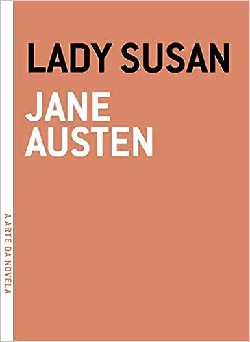 Lady Susan - Serie A Arte da Novela (Em Portugues do Brasil ...