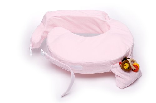 My Brest Friend Deluxe Nursing Pillow, Pink