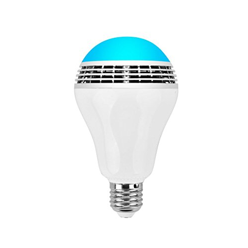 Tupelo universal led bluetooth speaker bulb dimmable for Bluetooth bulb
