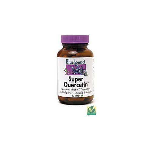 Super Quercetin By Bluebonnet - 30 Vegetarian Capsules by Blue Bonnet (Quercetin Bluebonnet Super)