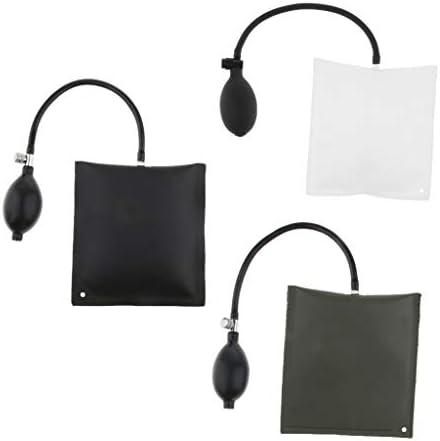 ジャッキアップ エアーウエッジ エアーポンプウェッジト 補助工具 保管便利 3色 3ピースセット