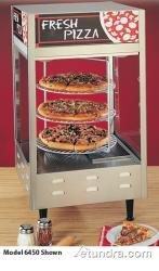 Nemco 6452-2 Pizza Merchandiser, 4 Tier, Rotating, 18'' Diameter, Pass-Thru Design