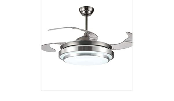 42 inch fan chandelier 4 retractable blades with remote
