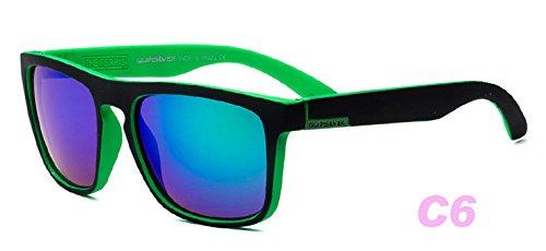 Hembra De Azul Gafas Sol Nueva Sol Película Gafas De Gafas zhenghao Moda Personalidad Color De Sol blue De Polarizante De Ronda Xue BIqpYp