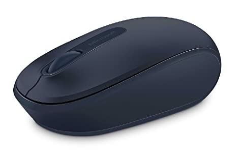 Microsoft Wireless Mobile Mouse 1850, Wool Blue (U7Z-00011) (Mouse Wireless Microsoft Blue)