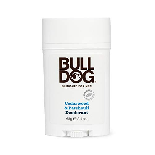 - Bulldog Mens Skincare and Grooming Cedarwood Patchouli Deodorant, 2.4 Ounce